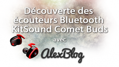 Ecouteurs Bluetooth Kitsound Comet Buds