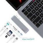 Hub Type C Qacqoc Gn28a Apple Macbook Pro (1)