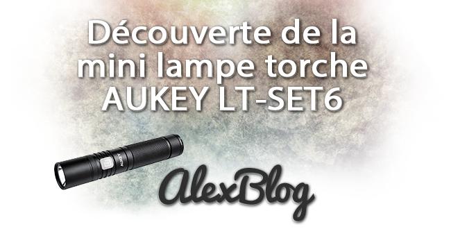 Lampe Torche Aukey Lt Set6