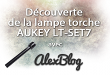 Photo of Découverte de la lampe torche AUKEY LT-SET7 de 965 lumens