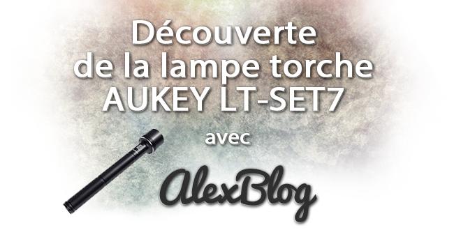 Lampe Torche Puissante Aukey Lt Set7