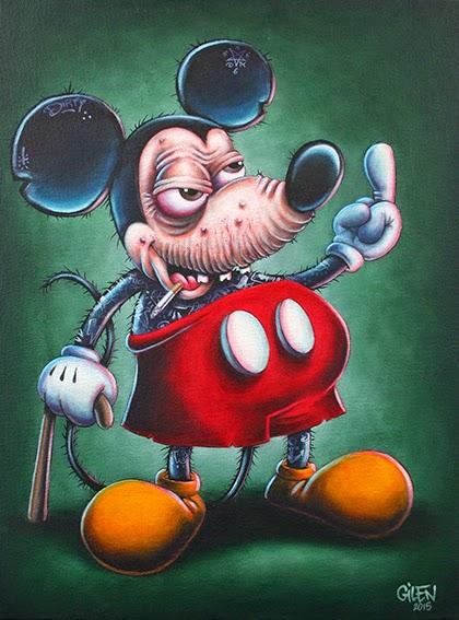 Gilen Bousquet Peinture Disneys Bastards (13)
