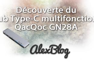 Hub Type C Qacqoc Gn28a Apple Macbook