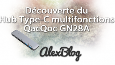 Photo of Découverte du Hub USB Type-C multifonctions QacQoc GN28A pour Apple MacBook Pro