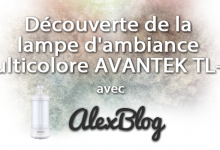 Photo of Découverte de la lampe d'ambiance / camping multicolore AVANTEK TL-01