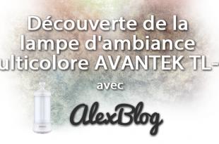 Lampe Ambiance Multicolore Avantek Tl 01