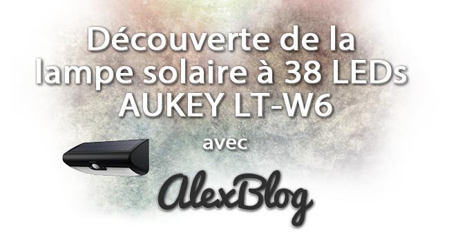 Lampe Solaire 38 Leds Aukey Lt W6