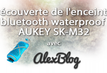 Photo of Découverte de l'enceinte bluetooth waterproof AUKEY SK-M32