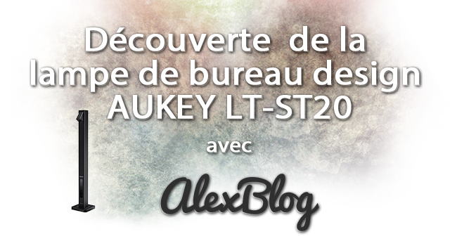 Decouverte Lampe Bureau Design Aukey Lt St20