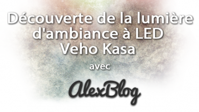 Decouverte Lumiere Bande Ambiance Led Veho Kasa