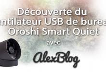 Photo of Découverte du ventilateur USB de bureau Oroshi Smart Quiet