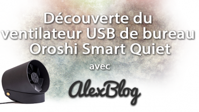 Photo of Découverte du ventilateur USB de bureau Oroshi Smart Quiet