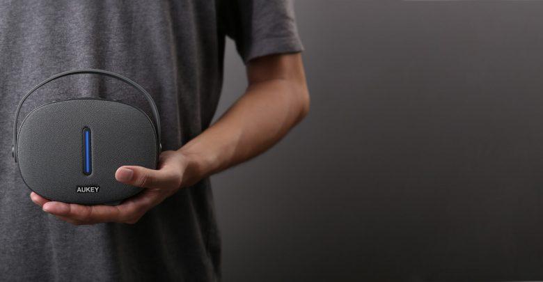 Decouverte Enceinte Portable Bluetooth Design Aukey Sk S260012