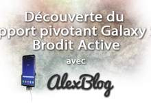 Photo of Découverte du support pivotant Galaxy S8 Brodit Active