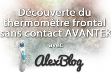 Photo of Découverte du thermomètre frontal sans contact FT-W AVANTEK