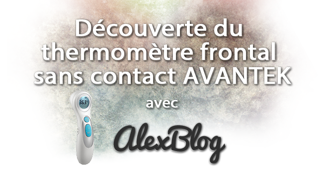 Decouverte Thermometre Frontal Sans Contact Avantek