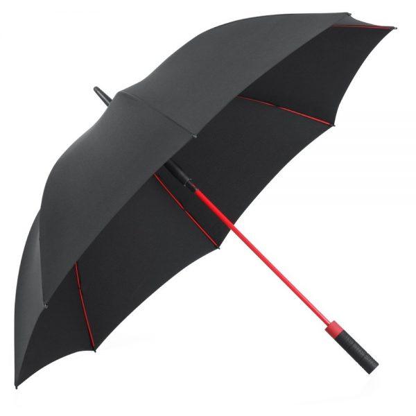Decouverte Parapluie Plemo Rouge Et Noir Grand (2)