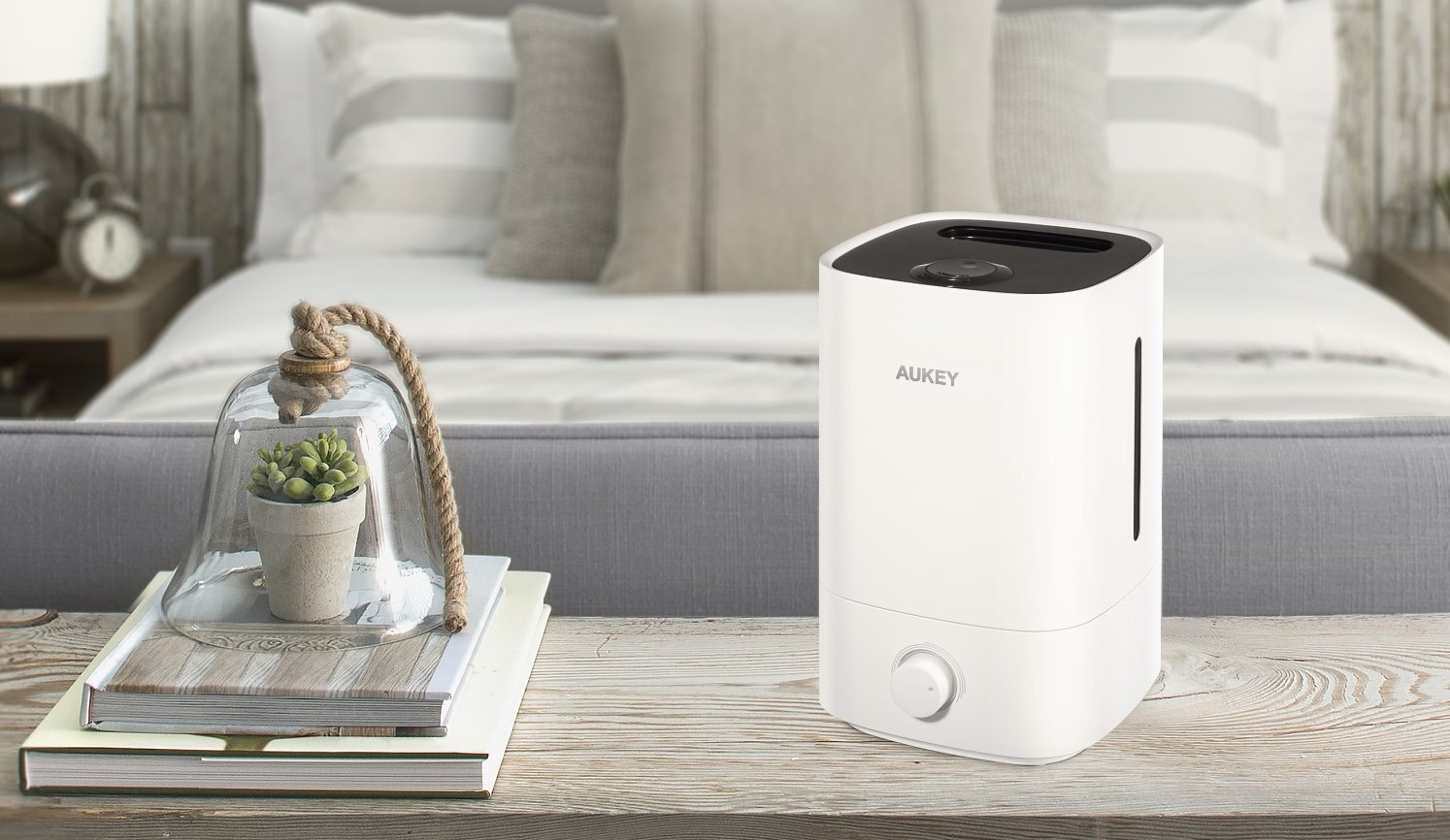 Decouverte Humidificateur Ultrasonique Vapeur Aukey Qs 3501