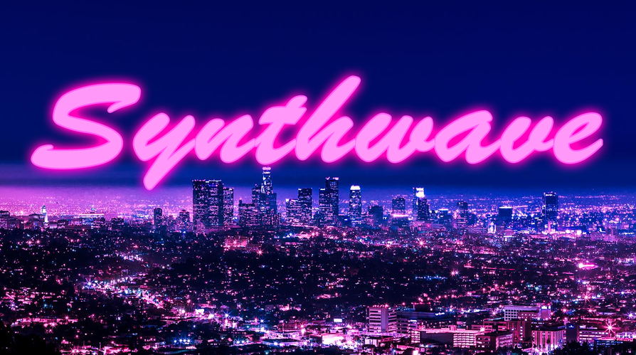 Synthwave Album Cover