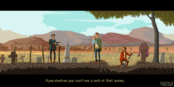 Gustavo Viselner Pixel Art The Good The Bad The Ugly