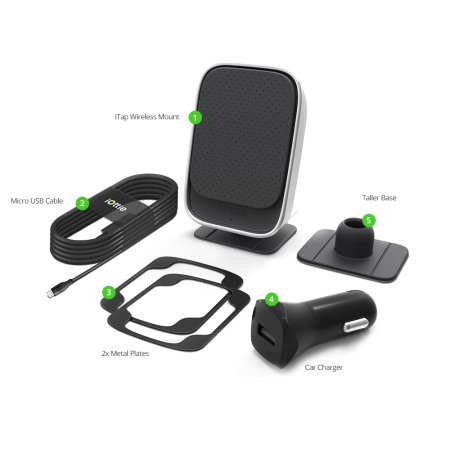 d couverte du support voiture magn tique android iottie chargeur sans fil rapide. Black Bedroom Furniture Sets. Home Design Ideas