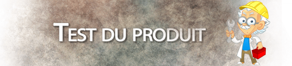 Test du produit sur AlexBlog