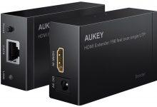 Hdmi Extender 1080p Ethernet Aukey Ha H03 (2)