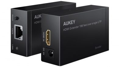 Photo of Découverte du HDMI Extender 1080P Ethernet AUKEY HA-H03