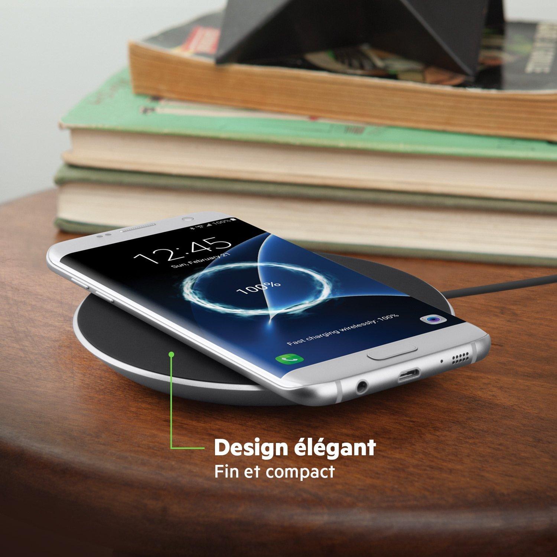 d couverte de la plaque de chargement sans fil rapide belkin boost up 15w. Black Bedroom Furniture Sets. Home Design Ideas