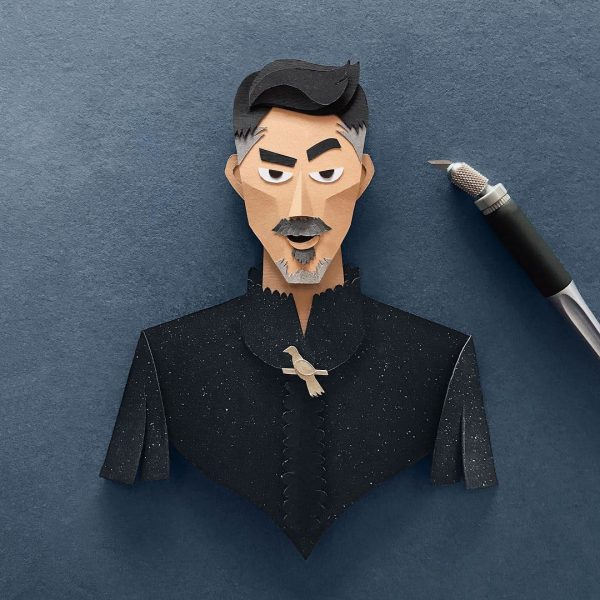 Robbin Gregorio Papercuts GOT 10