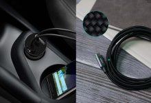 Photo of Découverte du pack voiture AUKEY avec un chargeur 33W 2 Ports CC-Y1 & un câble USB C en nylon CB-CD6