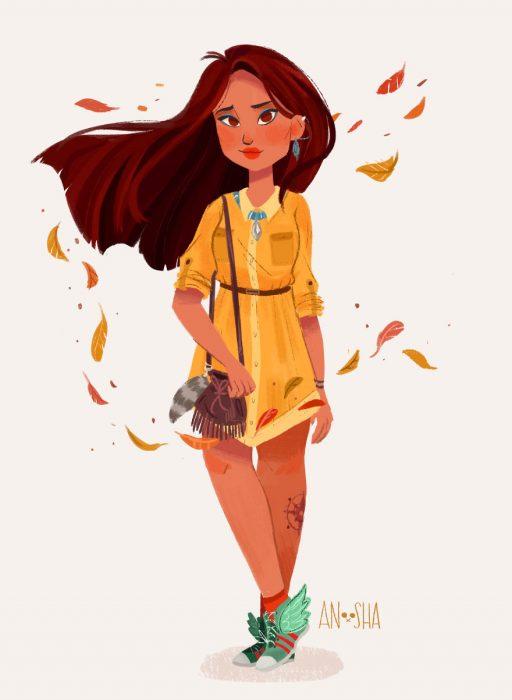 Princesses Disney Style Urbain Anoosha Syed (10)
