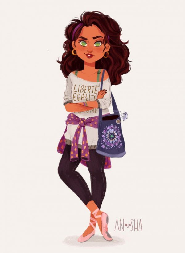 Princesses Disney Style Urbain Anoosha Syed (4)
