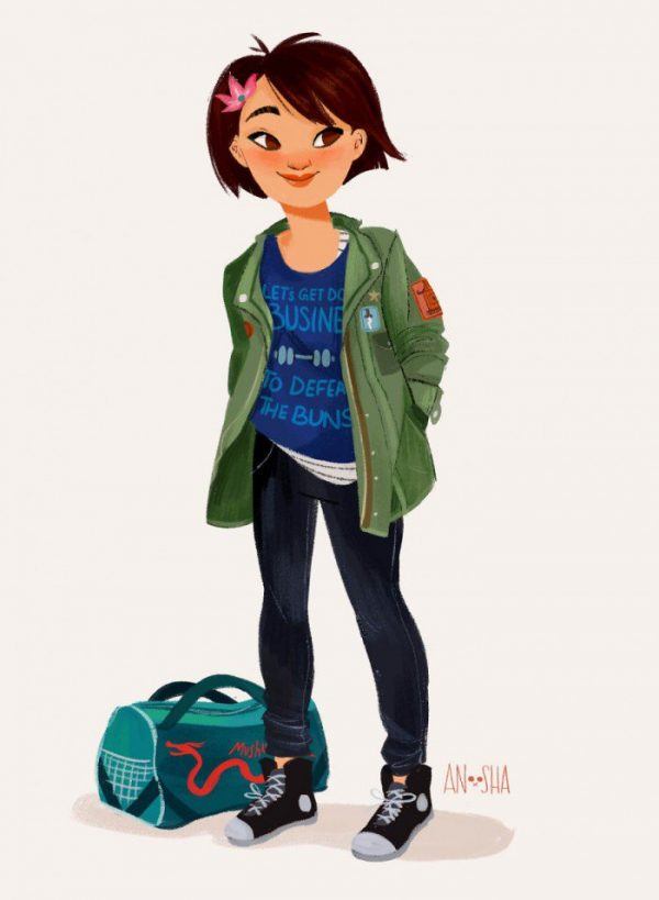 Princesses Disney Style Urbain Anoosha Syed (5)