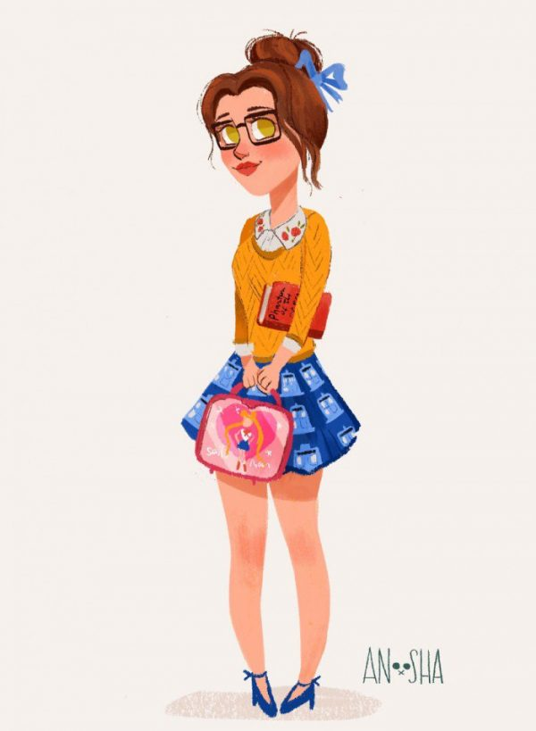 Princesses Disney Style Urbain Anoosha Syed (7)