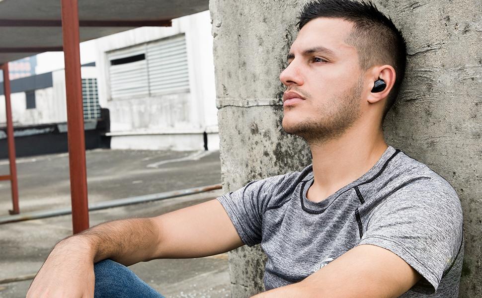 Ecouteurs Oreillettes Bluetooth Aukey Ep T16s